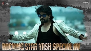 Special AV About Rocking Star Yash - #KGF