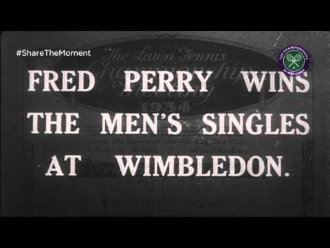 Fred Perry wins Wimbledon - #BritishGreat