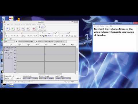 how to make subliminal mp3s