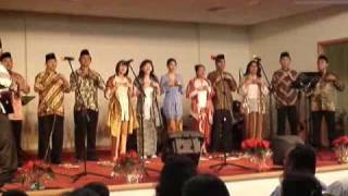 ECC International Christmas Carol - Indonesian - Angklung