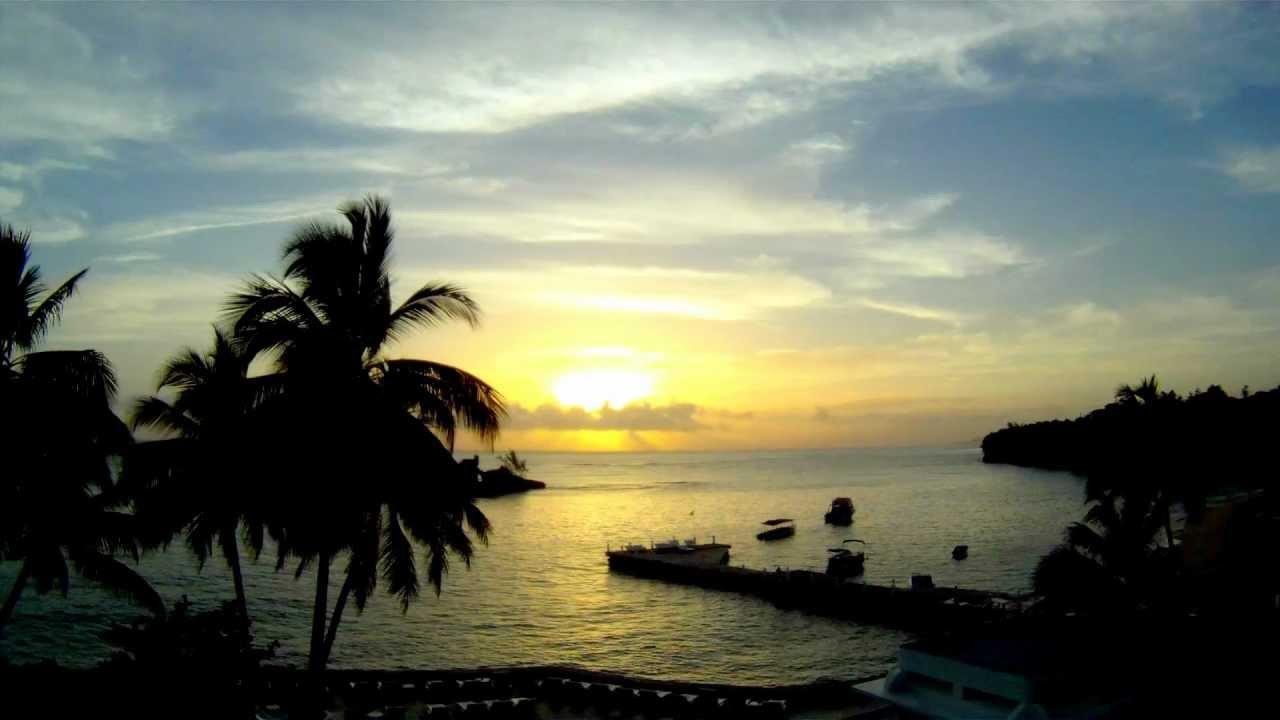 The Stunning Sunrise@Jamaica |