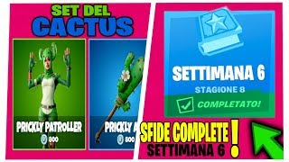 SFIDE WEEK 6 SEASON 8 FORTNITE SHOP 4 APRIL SKIN PUNGENT CACTUS
