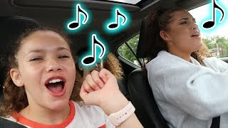 Haschak Sisters - Ponytail (Carpool Karaoke!)