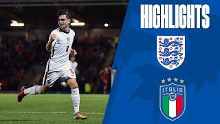 England U20 1 1 Italy U20 Lewis Bate Strike Earns Young Lions Draw Highlights