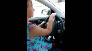 Araba kullanan kız eskisehir