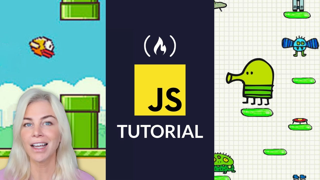 JavaScript Tutorial: Build Flappy Bird and Doodle Jump