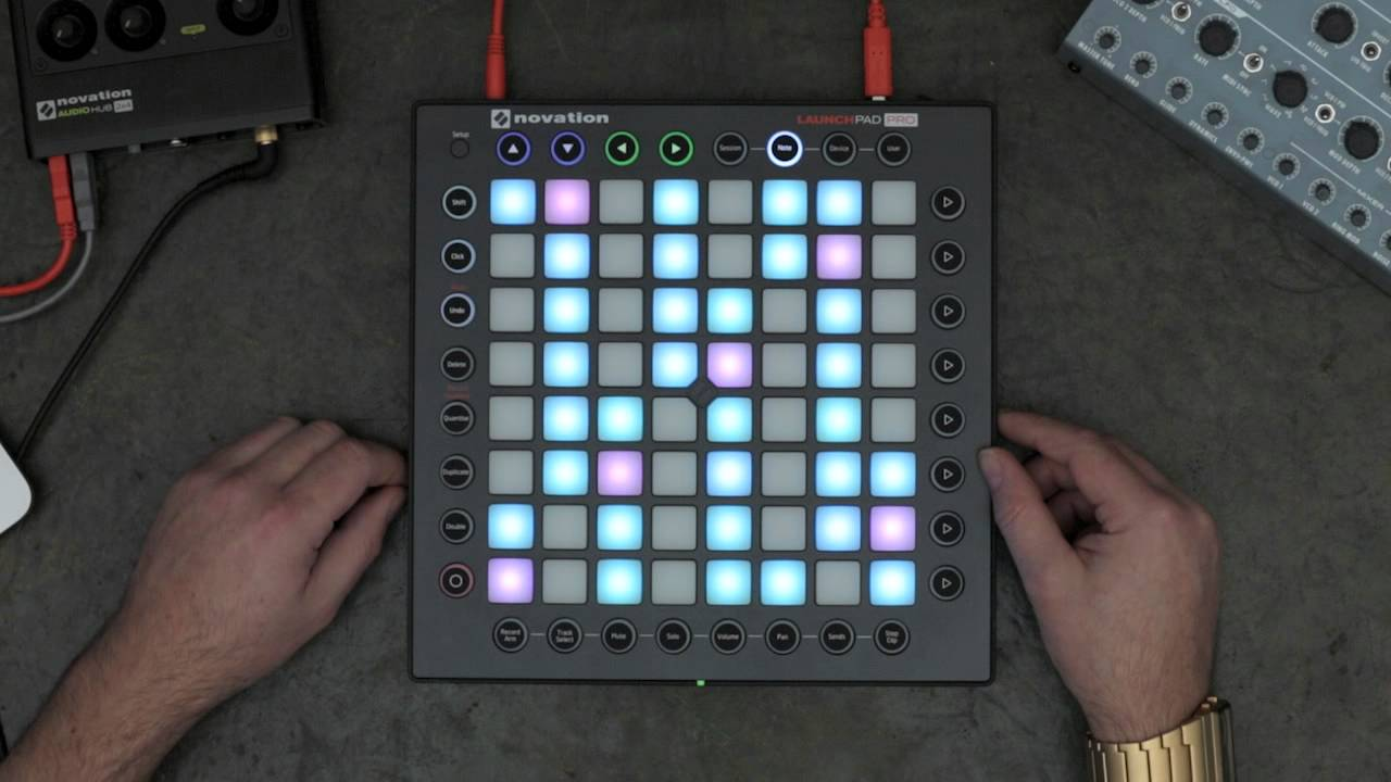 novation launchpad pro overview youtube. Black Bedroom Furniture Sets. Home Design Ideas