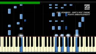 THE ZOMBIES - SHE'S NOT THERE - SYNTHESIA (PIANO COVER)
