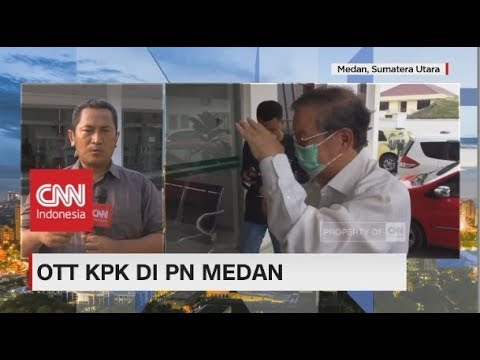 Empat Hakim & Dua Panitera PN Medan Kena OTT KPK