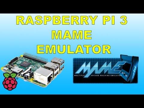 Raspberry Pi 3 Running MAME Emulator Retropie Emulation Station