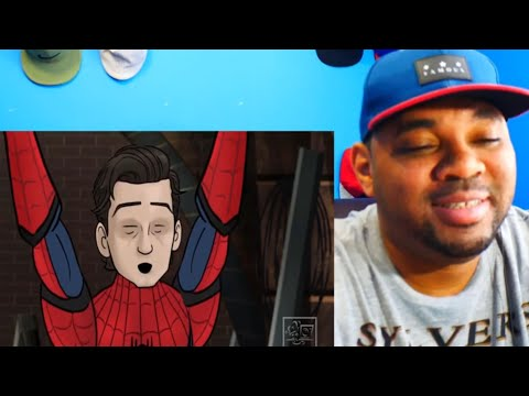 Spider-Man Far From Home Trailer HISHE || REACTION