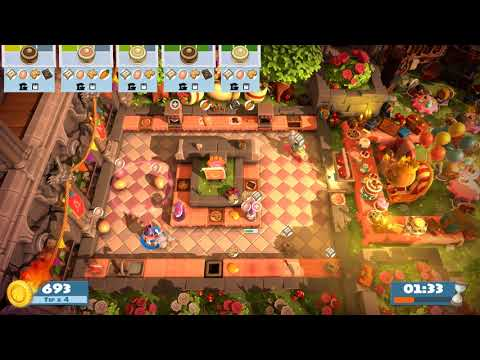 Overcooked! All You Can Eat (Birthday Party) 1-2 (2 Players) - 4 STARS |