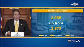 USA News TODAY  New York sees highest single day increase in deaths, hospitalizations | Today U S