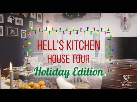 Holiday House Tour: Amelia's Festive Cove in Hell's Kitchen