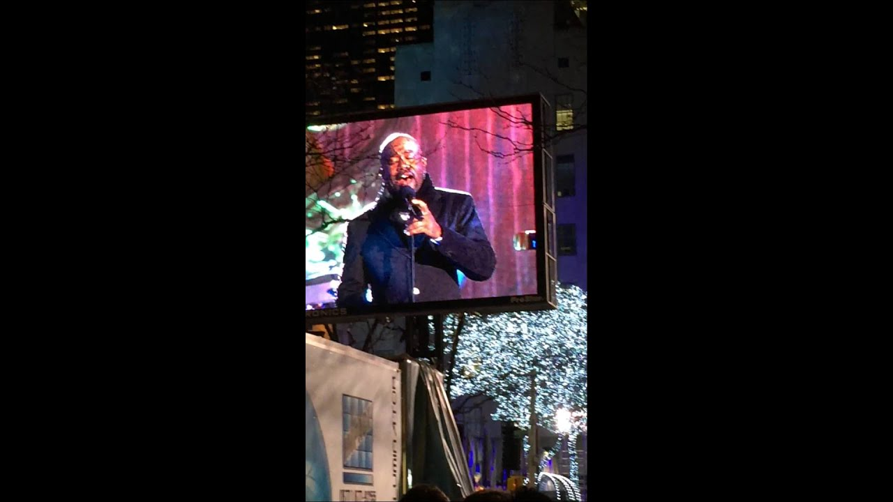 Christmas Tree NYC Lighting Rockefeller Center 2014 LIVE