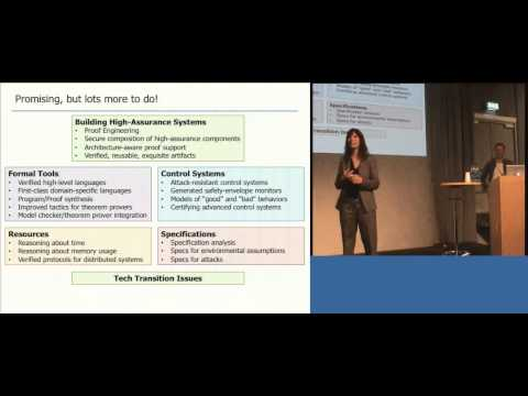 ICFP 2014: Using Formal Methods to Enable More Secure Vehicles (pt III) - Kathleen Fisher