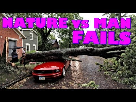 NATURE vs MAN FAILS 2017 | Funny Fail Compilation