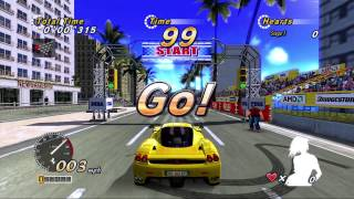OutRun 2 SP SDX by Sega-AM2 (2006) - 4K 60fps attract mode +