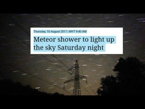 Forget Solar Eclipse Perseids Meteor Shower is This Weekend!! Aug 2017