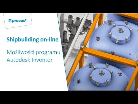 SHIPBUILDING ON LINE  -  Autodesk Inventor