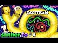 SLITHER Io 8 EAT MY DOTS QUICK Father Son Tag Team FGTEEV Duddy Chase Multiplayer Server mp3