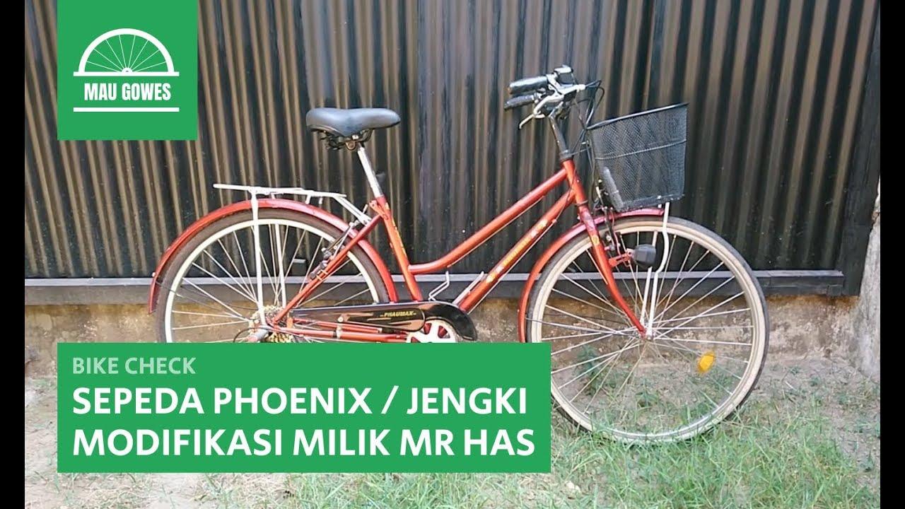 Sepeda Phoenix Atau Jengki Modifikasi Milik Mr Has Bike Check Mau Gowes Youtube