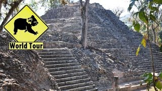 Voyage au Honduras Copán Ruinas cité Maya Maryse & Dany © Youtube