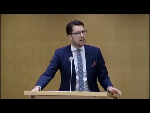 Swedish Parliament debate - Sexual Assaults by Migrants in Cologne, Stockholm, Europe