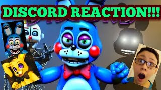- DISCORD FNAF SFM Discord REACTION By Domme23