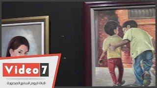 افتتاح معرض الفنان مصطفى السيد بـ