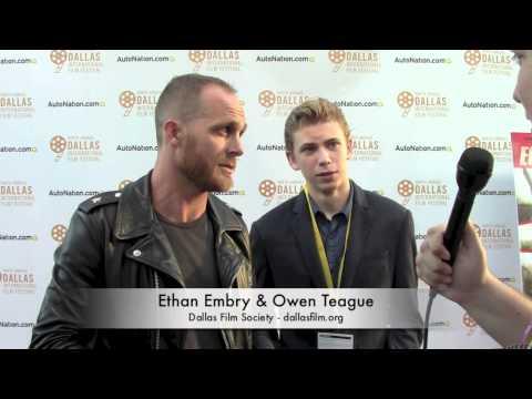 Ethan Embry & Owen Teague of ECHOES OF WAR