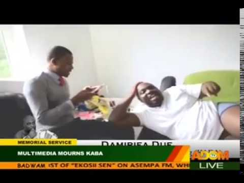 KABA Singing with Kofi Adoma and Others in Abroad