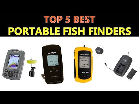 Best Portable Fish Finders 2020