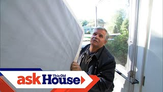 How To Move A Box Spring Up A Narrow Staircase | Ask This Old House