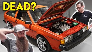 Can We Overcome Even More Issues?  Scirocco Engine Swap