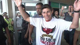 #MeDeuConca - Darío Conca chega ao Rio de Janeiro