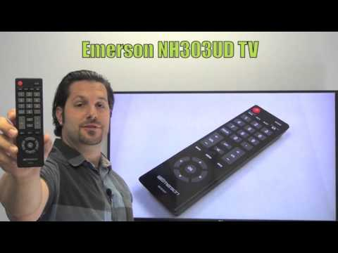 EMERSON NH303UD TV Remote Control - www ReplacementRemotes