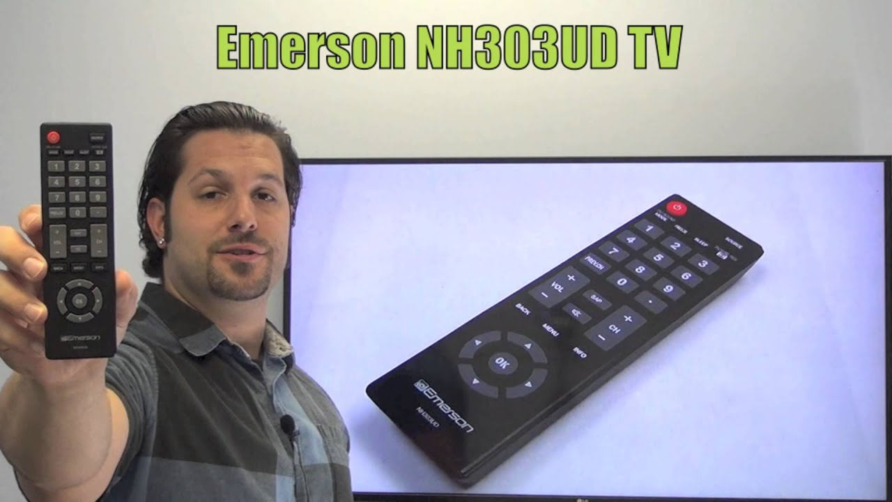 EMERSON NH303UD TV Remote Control - www ReplacementRemotes com