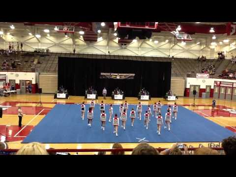 Fishers High School Cheer - 2013 State Champs