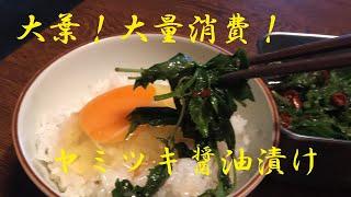 【大葉油醤油漬け】作り方
