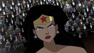 Wonder Woman vs. Hawkgirl and Vixen