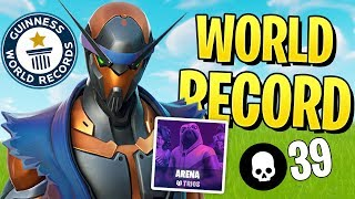 NEW CONSOLE *WORLD RECORD* 39 KILLS SOLO TRIO ARENA MODE!