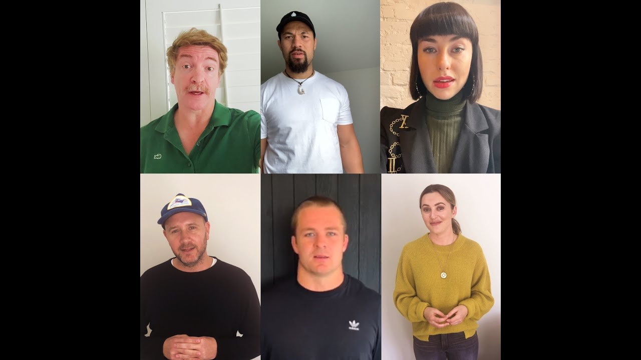 NZ celebrities rally together to support us in providing essential items to vulnerable families