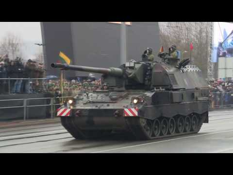 Lithuanian Hell March 2018 Military 100th Anniversary Parade In Vilnius