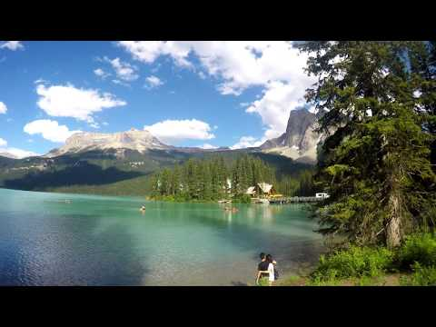 Hiking Around Emerald Lake, Yoho National Park, BC