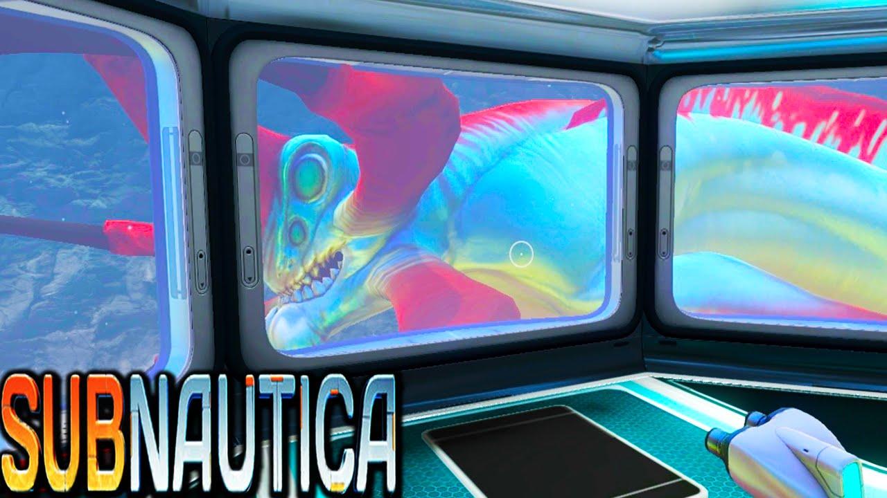 subnautica how to catch fish