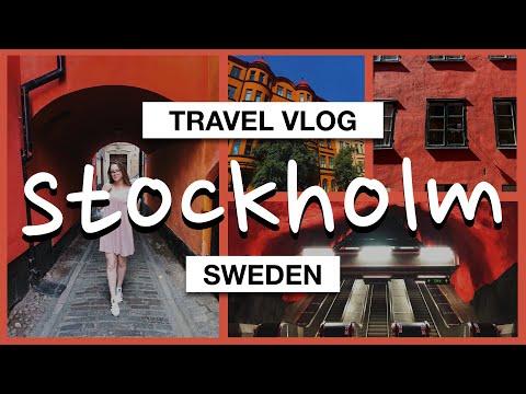 My DiscoverEU Interrail Trip #3 Stockholm, Sweden | Travel Vlog