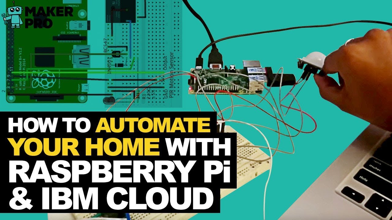 IoT based Raspberry Pi Home automation using IBM Bluemix - YouTube