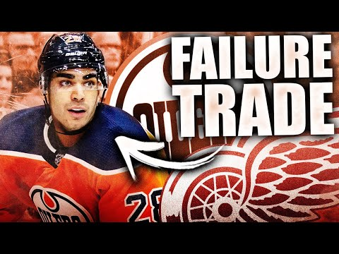 The Andreas Athanasiou Trade Was A FAILURE In Hindsight For The Edmonton Oilers (Detroit Red Wings)