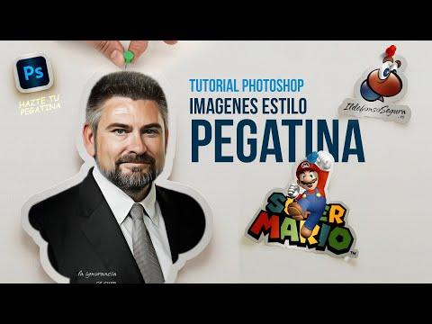 Dale Un Estilo De Pegatina (sticker) A Tus Fotos E Ilustraciones Con Photoshop